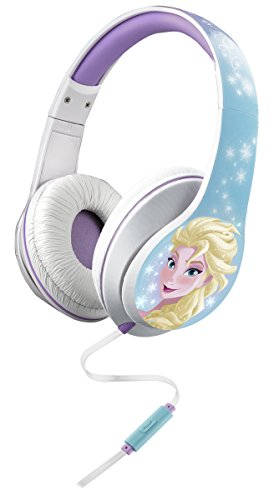 Frozen Over The Ear Headphones with in-Line Mic