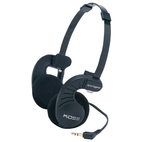 Koss SportaPro Stereo Headphones, Standard Packaging