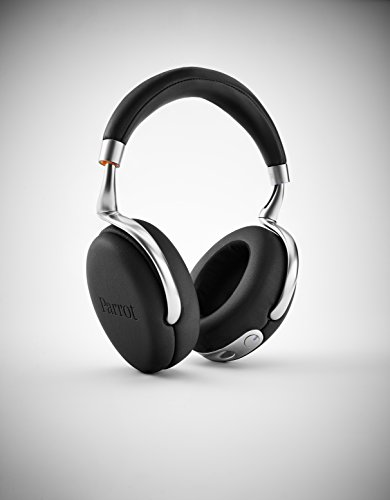parrot zik 2 0 wireless noise cancelling headphones black earbuds shop. Black Bedroom Furniture Sets. Home Design Ideas