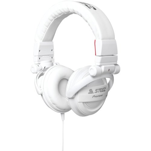 Pioneer SE-D10MT-W Steez Dubstep Headphones with Microphone (White)