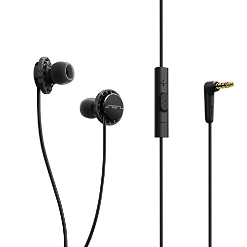 SOL REPUBLIC 1131-31 Relays 3-Button In-Ear Headphones – Black